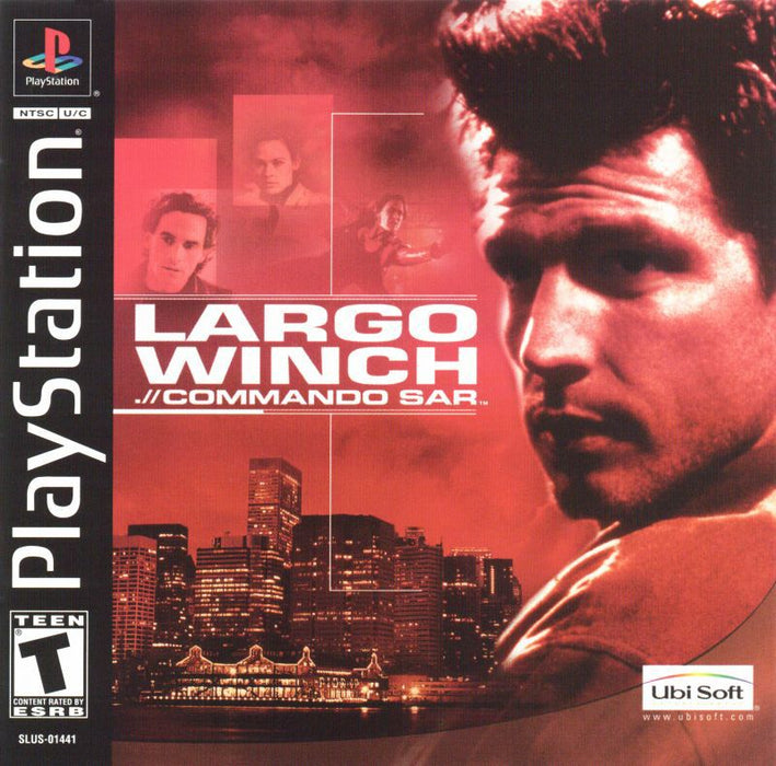 Largo Winch Commando Sar - PlayStation 1