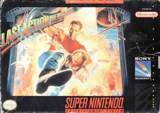 Last Action Hero - Super Nintendo Entertainment System