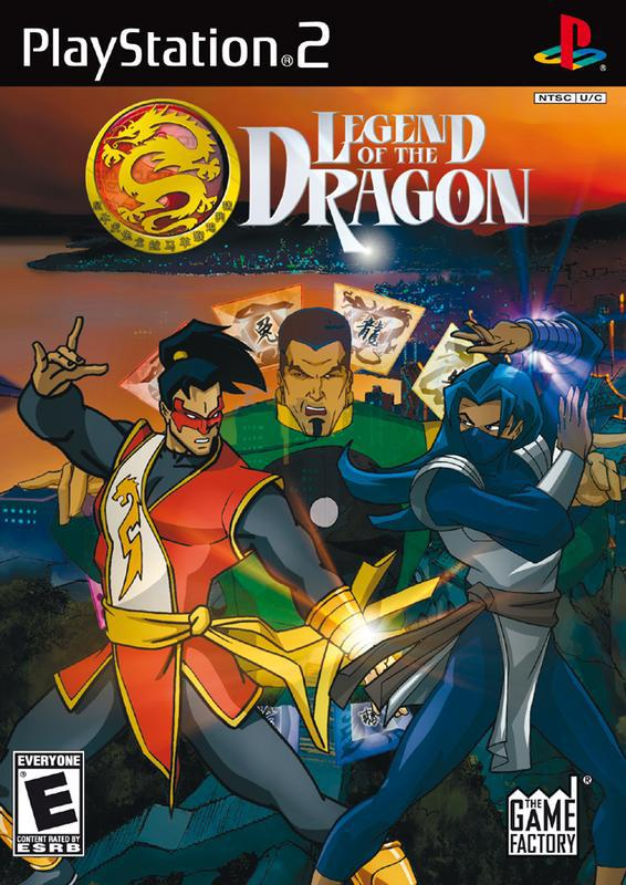 Legend of the Dragon - PlayStation 2