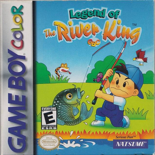 Legend of the River King GBC - Game Boy Color