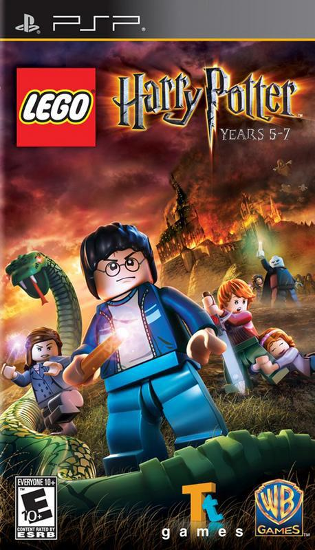Lego Harry Potter Years 5–7 - PlayStation Portable
