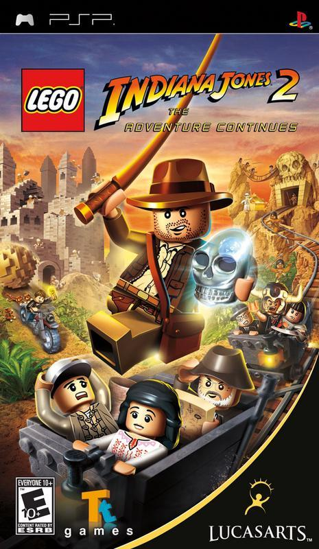 Lego Indiana Jones 2 The Adventure Continues - PlayStation Portable