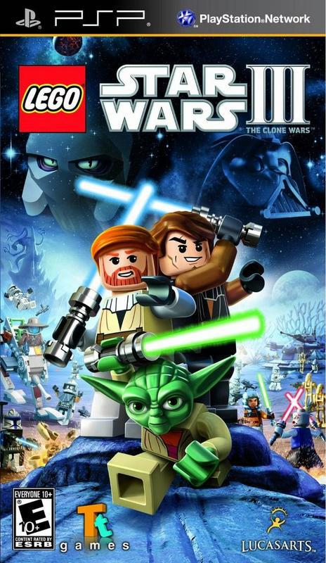 Lego Star Wars III The Clone Wars - PlayStation Portable