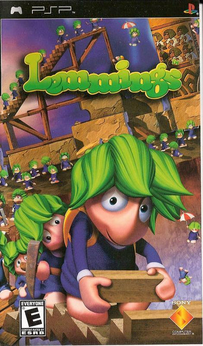 Lemmings - PlayStation Portable