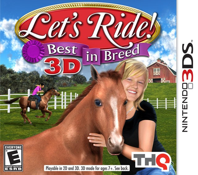 Lets Ride! Best in Breed 3D - Nintendo 3DS