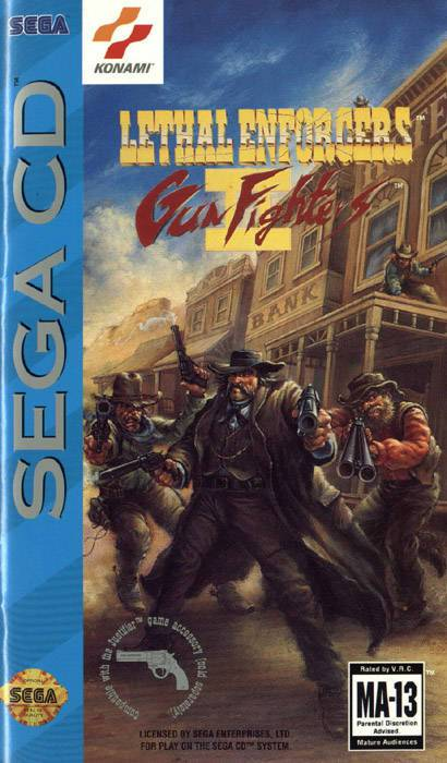 Lethal Enforcers II Gun Fighters - Sega CD