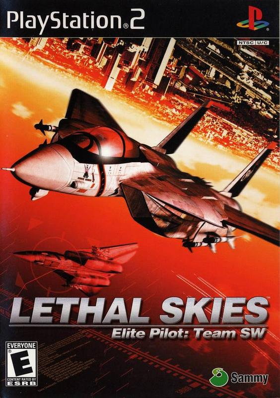 Lethal Skies Elite Pilot Team SW - PlayStation 2
