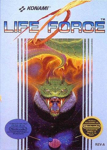 Life Force - Nintendo Entertainment System