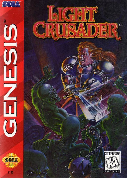 Light Crusader - Sega Genesis