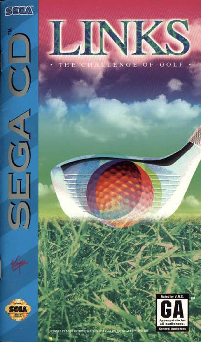 Links The Challenge of Golf - Sega CD