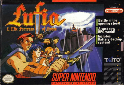 Lufia & the Fortress of Doom - Super Nintendo Entertainment System