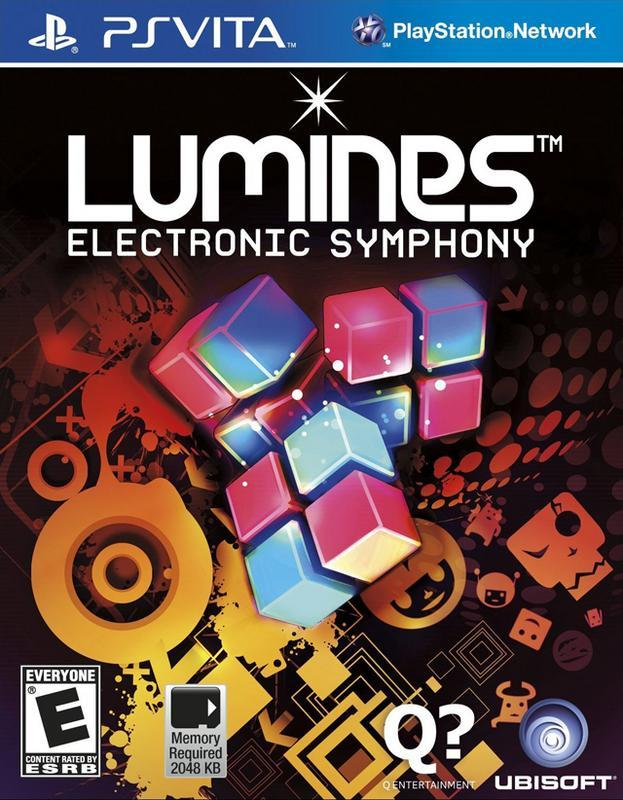 Lumines Electronic Symphony - PlayStation Vita