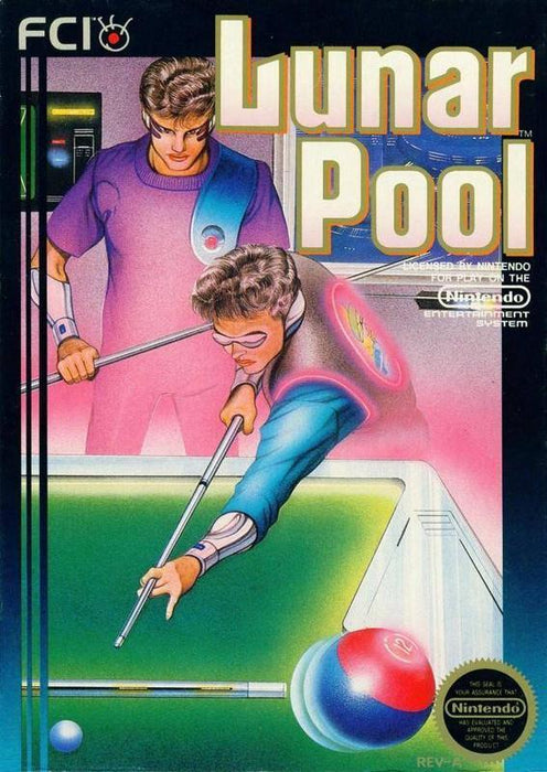 Lunar Pool - Nintendo Entertainment System