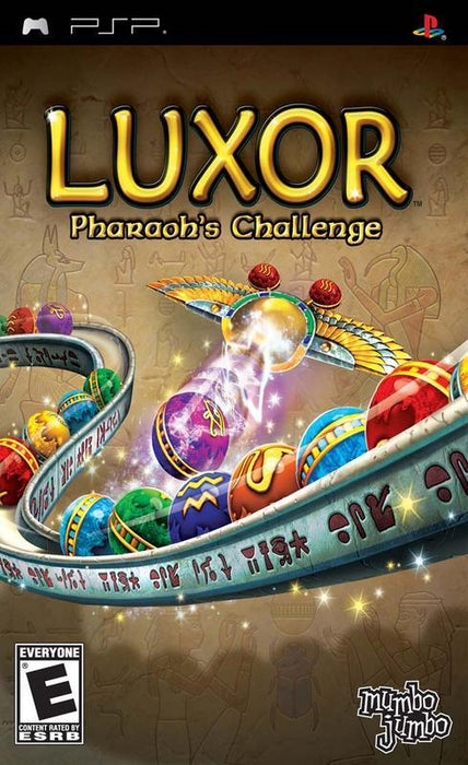 Luxor Pharaohs Challenge - PlayStation Portable
