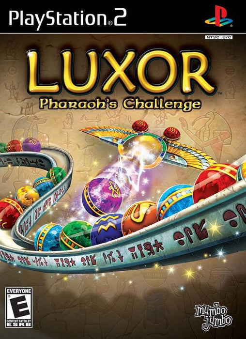 Luxor Pharaohs Challenge - PlayStation 2