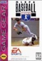 MLBPA Baseball - Sega Game Gear