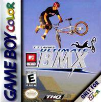 MTV Sports T.J. Lavins Ultimate BMX - Game Boy Color