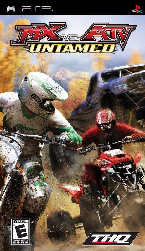 MX vs. ATV Untamed - PlayStation Portable