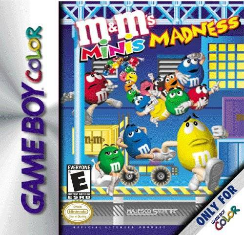 M&Ms Mini Madness - Game Boy Color