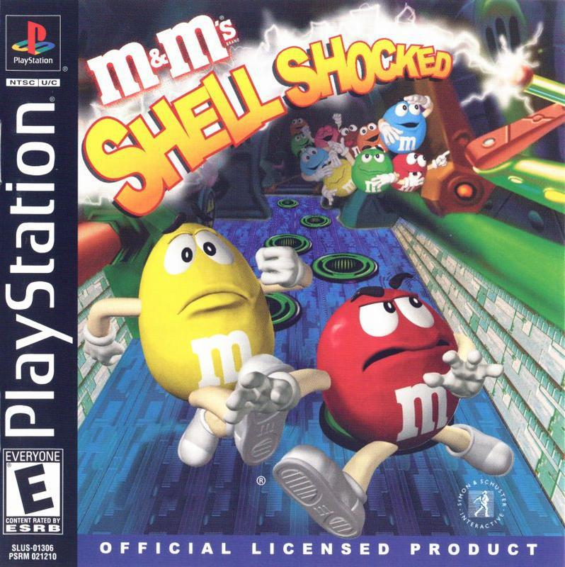 M&Ms - Shell Shocked - PlayStation 1