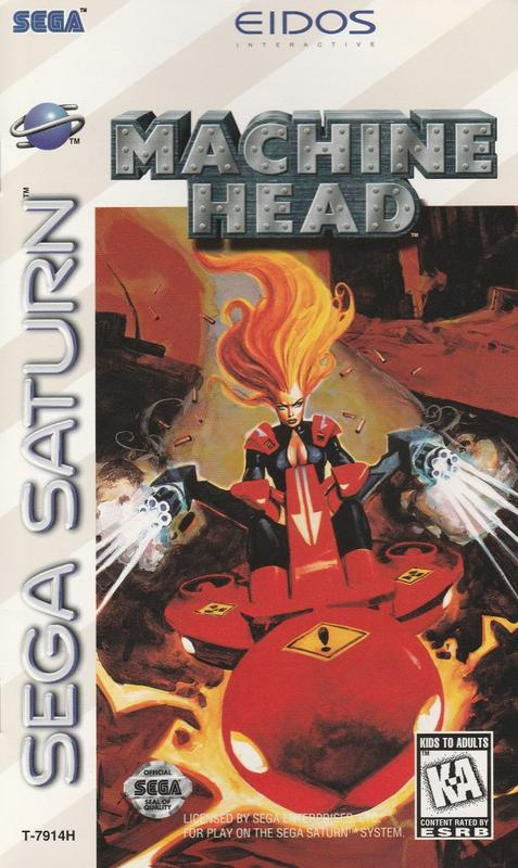 Machine Head - Sega Saturn