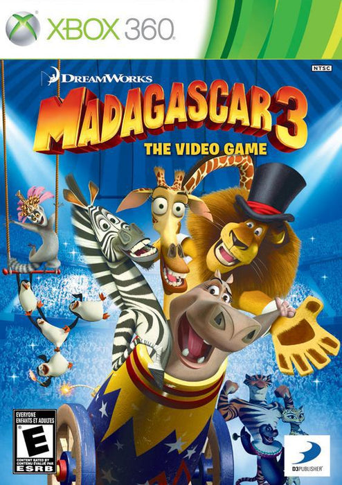 Madagascar 3 The Video Game - Xbox 360