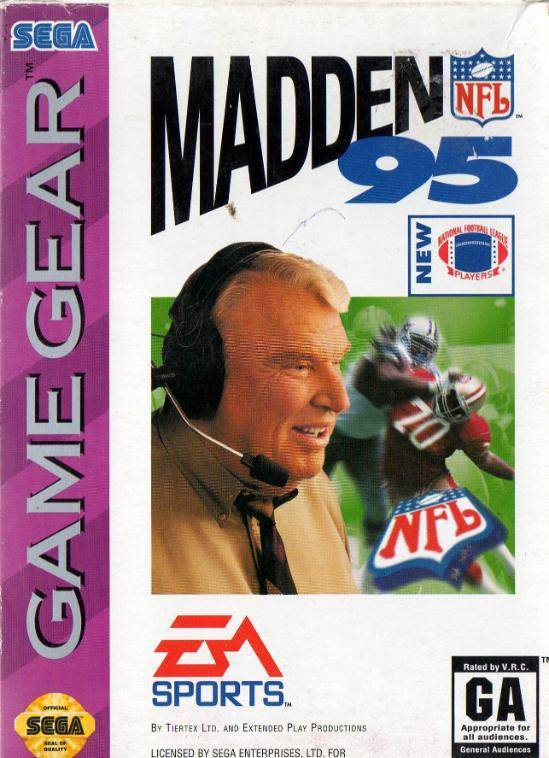 Madden NFL 95 - Sega Game Gear