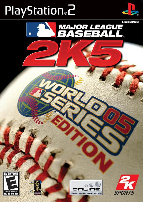 Major League Baseball 2K5 World Series Edition - PlayStation 2