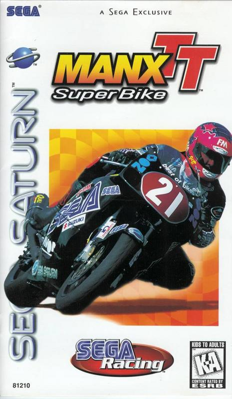Manx TT Super Bike - Sega Saturn
