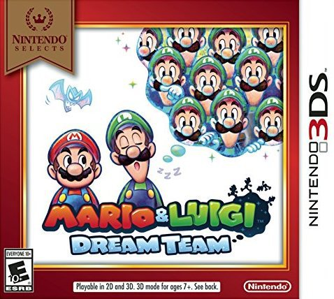 Mario & Luigi Dream Team - Nintendo 3DS