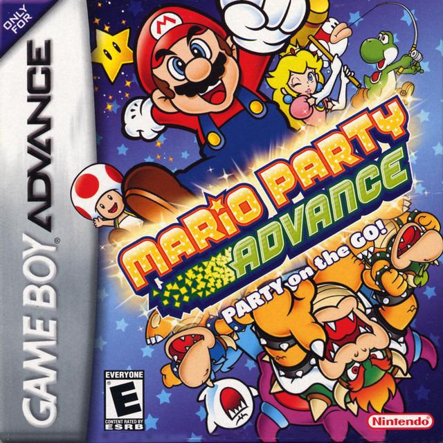 Mario Party Advance - Game Boy Advance