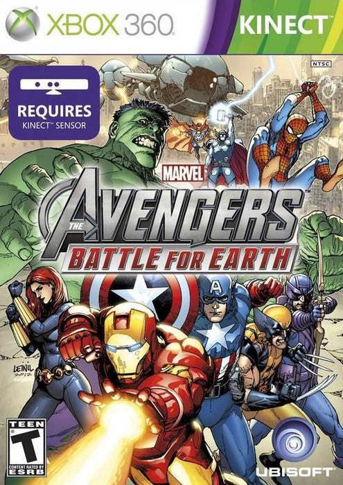 Marvel Avengers Battle for Earth - Xbox 360