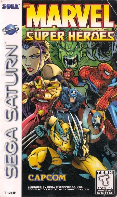 Marvel Super Heroes - Sega Saturn
