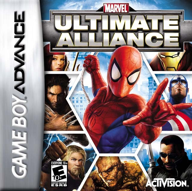 Marvel Ultimate Alliance - Game Boy Advance