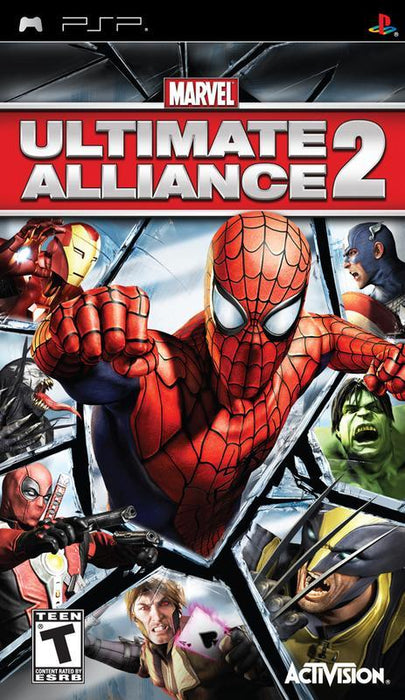 Marvel Ultimate Alliance 2 - PlayStation Portable