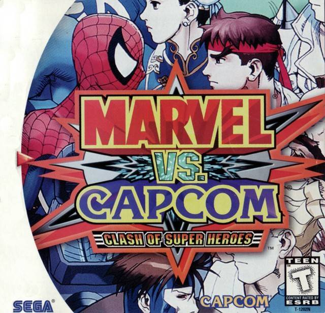 Marvel vs. Capcom Clash of Super Heroes - Sega Dreamcast