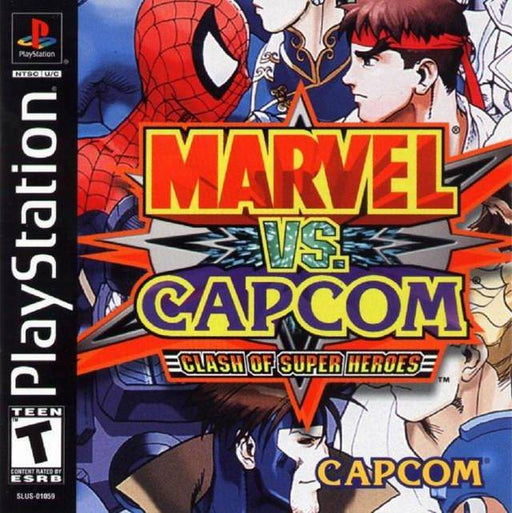 Marvel vs. Capcom Clash of Super Heroes - PlayStation 1