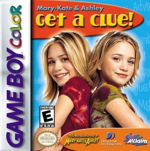 Mary-Kate & Ashley Get a Clue! - Game Boy Color