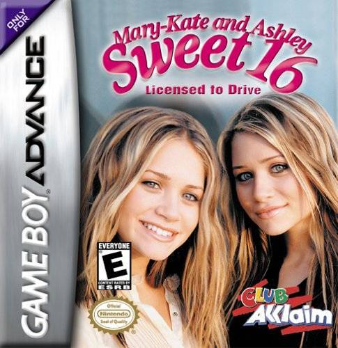 Mary-Kate and Ashley Sweet 16 - Licensed to Drive - Game Boy Advance