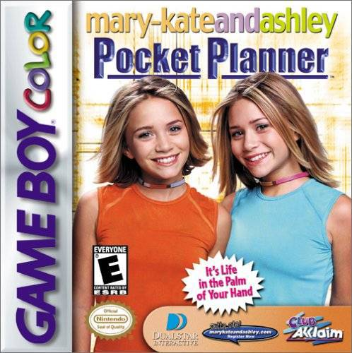 Mary-Kate and Ashley Pocket Planner - Game Boy Color