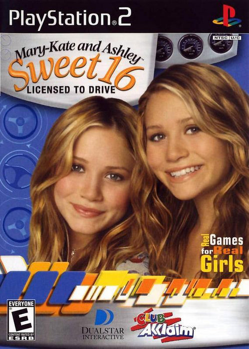 Mary-Kate and Ashley Sweet 16 - Licensed to Drive - PlayStation 2