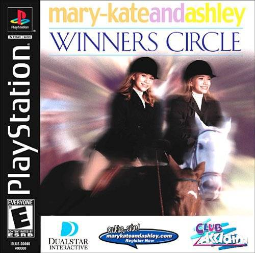 Mary-Kate and Ashley Winners Circle - PlayStation 1