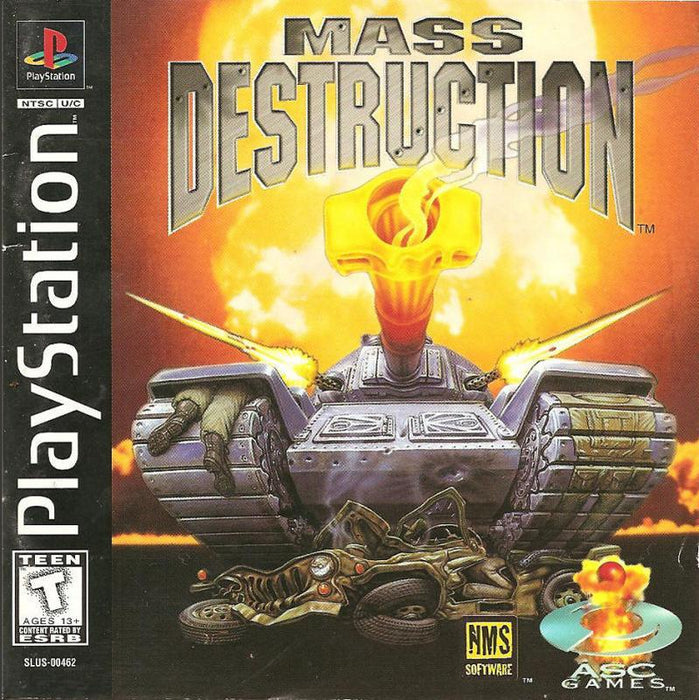 Mass Destruction - PlayStation 1