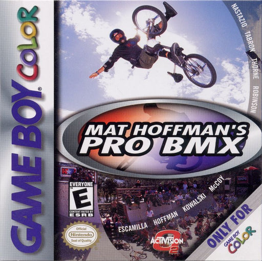 Mat Hoffmans Pro BMX - Game Boy Color