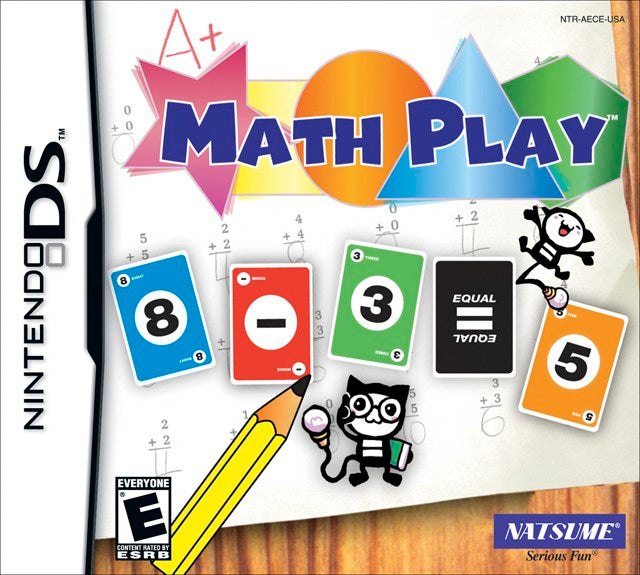 Math Play - Nintendo DS
