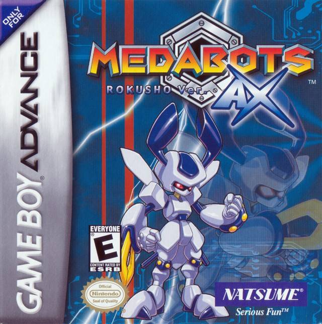 Medabots AX Rokusho Ver. - Game Boy Advance