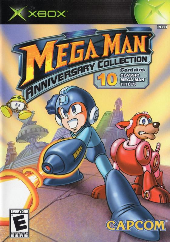 Mega Man Anniversary Collection - Xbox