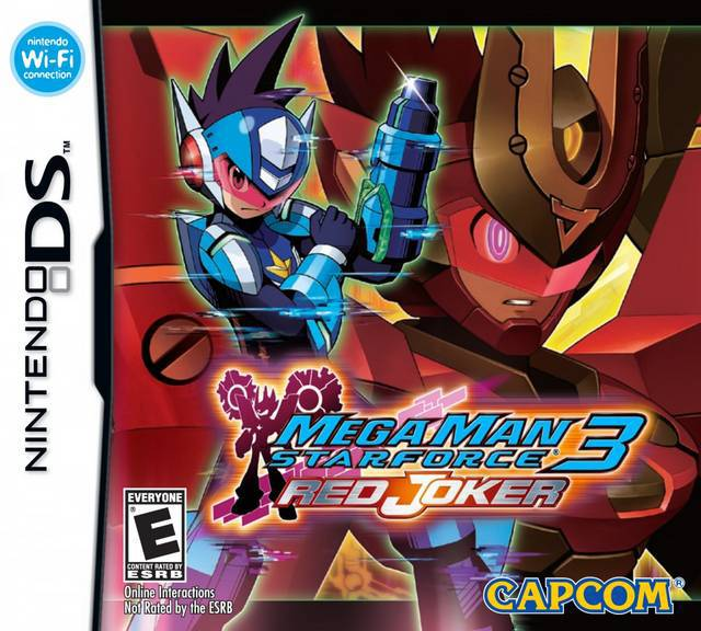 Mega Man Star Force 3 Red Joker - Nintendo DS