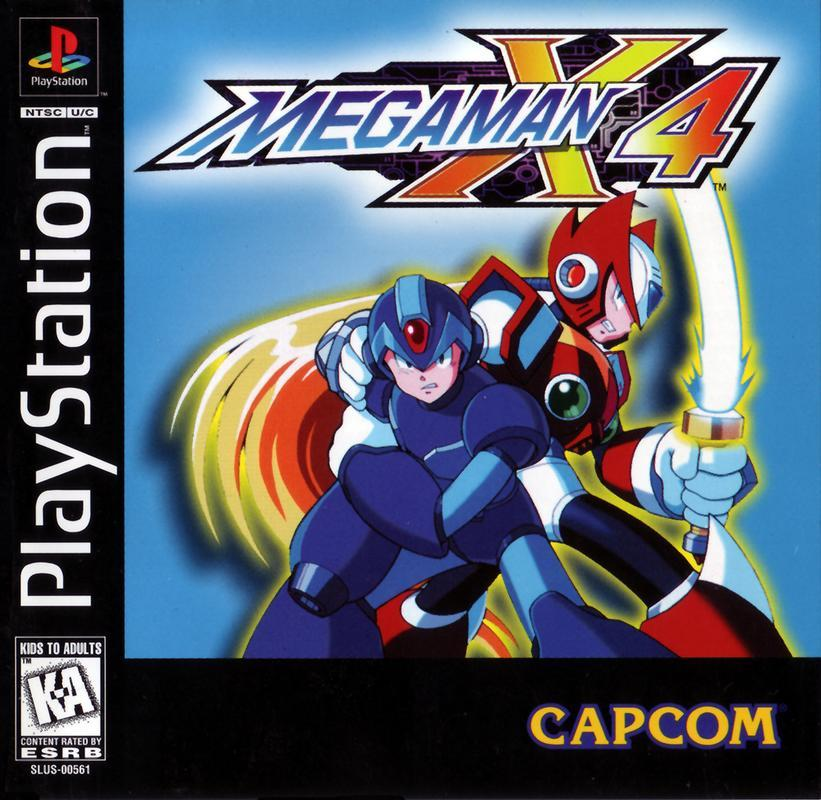Mega Man X4 - PlayStation 1