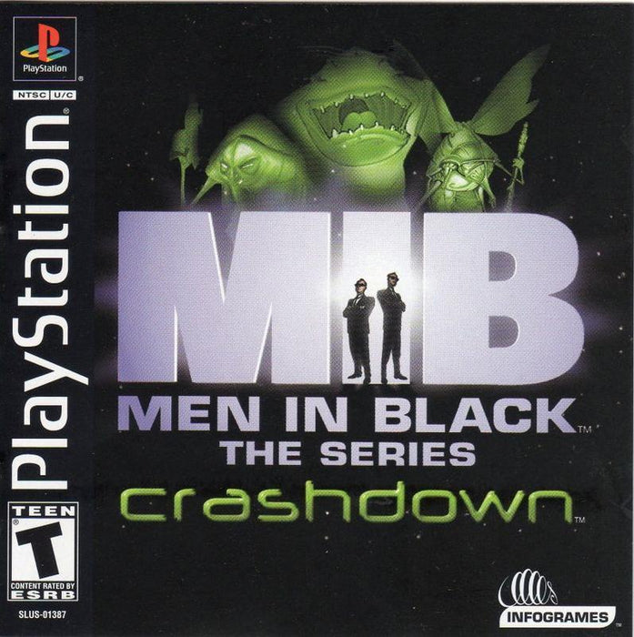 Men in Black The Series – Crashdown - PlayStation 1